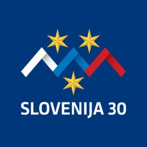 Slovenija 30 let logo